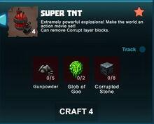 Creativerse R41 crafting recipes Super TNT001.jpg