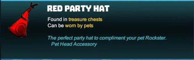Red Party Hat