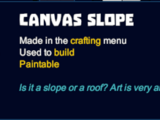 Canvas Slope
