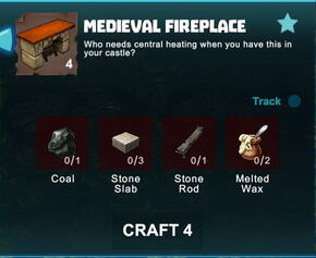 Creativerse R41 colossal castle medieval fireplace crafting recipe01.jpg