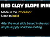 Red Clay Slope Inner Corner
