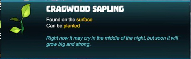 Cragwood Sapling