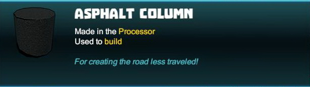 Asphalt Column