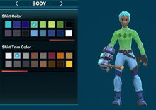 Creativerse ugly leafi turtleneck sweater and arms green 2018-12-21 00-26-41-96.jpg