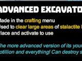 Advanced Excavator