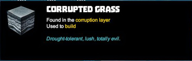 Corrupted Grass