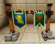 Medieval signposts with banners and baby leafi.png