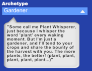 Npc archetype gardener
