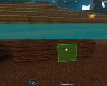 Creativerse Cragwood log in lake818.jpg