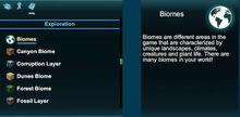 Creativerse help Biomes 2018-08-22 19-50-17-23 help window in codex.jpg