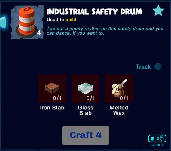 Industrial Safety Drum