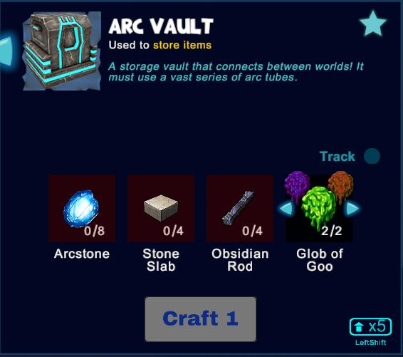 Arc Vault