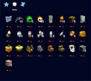 Pumpkiru 2020 items