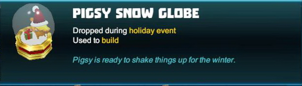 Pigsy Snow Globe
