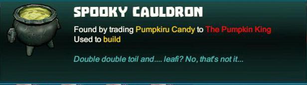 Spooky Cauldron