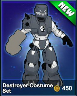 Destroyer Costume Set