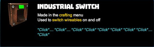 Industrial Switch