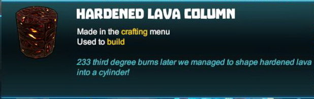 Hardened Lava Column