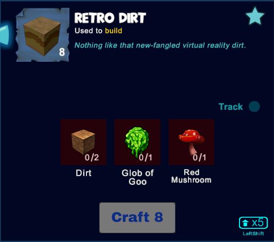 Retro Dirt