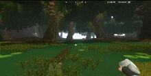 Creativerse Swamplands weepwood log mossy leafi1010.jpg