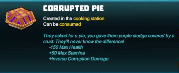 Corrupted Pie