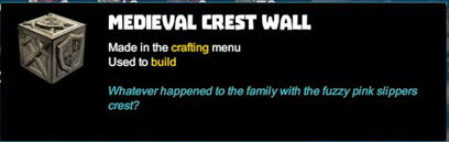 Creativerse R41 colossal castle medieval crest wall tooltip01.jpg