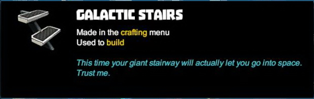 Galactic Stairs