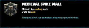 Creativerse R41 colossal castle medieval brick spike wall tooltip01.jpg