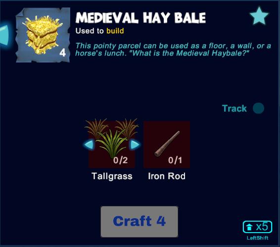 Medieval Hay Bale