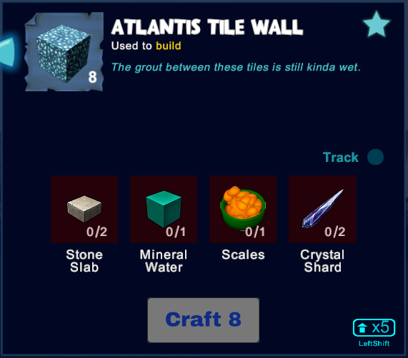 Atlantis Tile Wall