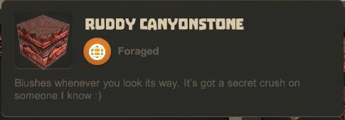 Ruddy Canyonstone