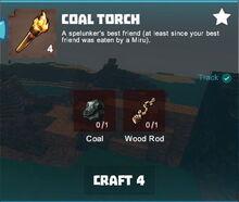 Creativerse crafting tracking coal torch001.jpg