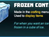 Frozen Container