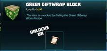 Creativerse Green Giftwrap Block unlock recipe 2018-12-20 20-55-18-12.jpg
