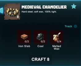 Creativerse R41 crafting recipes colossal castle medieval chandelier02.jpg