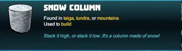 Snow Column