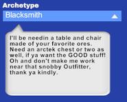 Programmable villager blacksmith desc