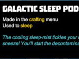 Galactic Sleep Pod