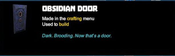 Obsidian Door