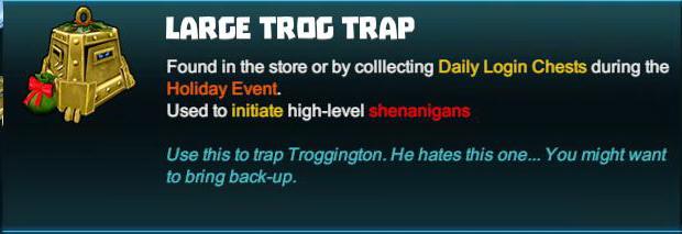 Large Trog Trap