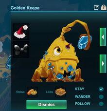 Creativerse golden keepa holiday hat 2018-12-18 16-12-49-25 pet accessories.jpg