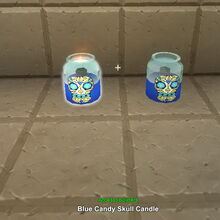 Creativerse blue candy skull candle 2017-10-19 10-36-02-91 candles etc.jpg