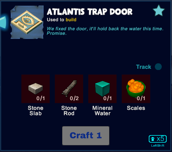 Atlantis Trap Door