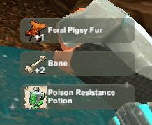 Creativerse Feral Pigsy Fur unlocks Poison Resistance76.jpg