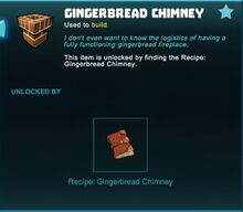 Creativerse rare recipe unlock gingerbread chimney01 2018.jpg