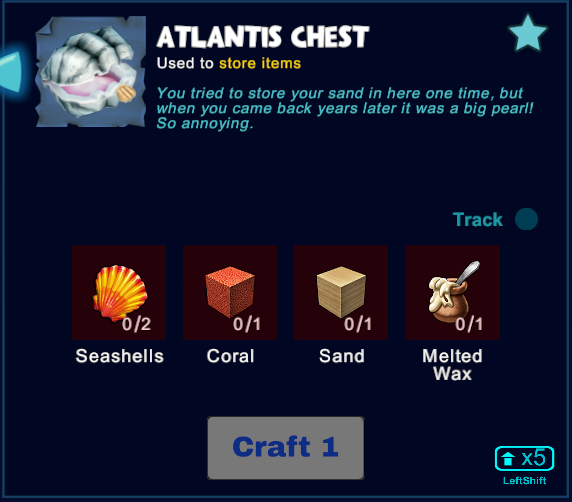 Atlantis Chest