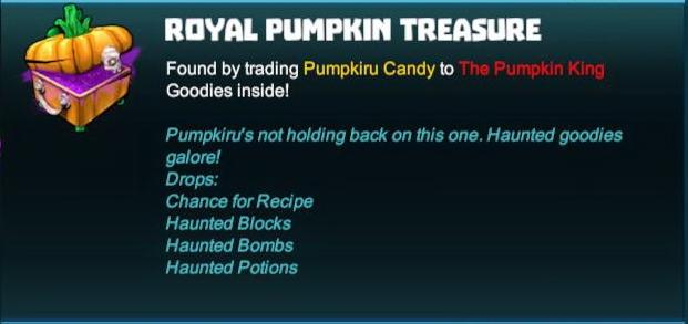 Royal Pumpkin Treasure