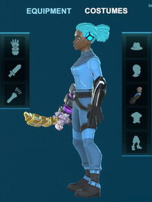 Creativerse Electro cycle arms 2018-08-22 20-09-23-73 5 basic armor costume sets.jpg