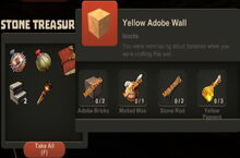 Creativerse Yellow Adobe Wall Stone Treasure Chest 2014-12-15.jpg