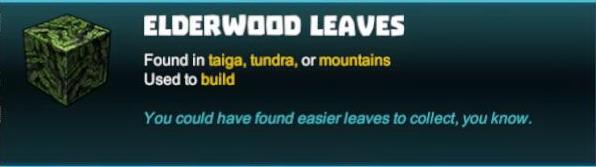 Elderwood Leaves